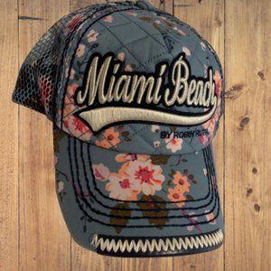 Robin Ruth Miami Beach Snapback Trucker Hat